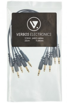 Verbos Cable 22cm (5-Pack), grey