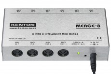 Kenton Merge 8 – 8 MIDI IN to 2 OUT