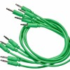 Black Market Modular Patch Cable 5-pack 50 cm green