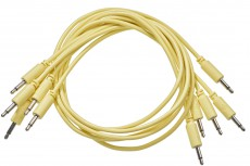 Black Market Modular Patch Cable 5-pack 100 cm yellow