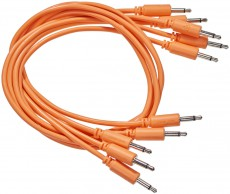 Black Market Modular Patch Cable 5-pack 100 cm orange