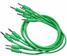 Black Market Modular Patch Cable 5-pack 150 cm green
